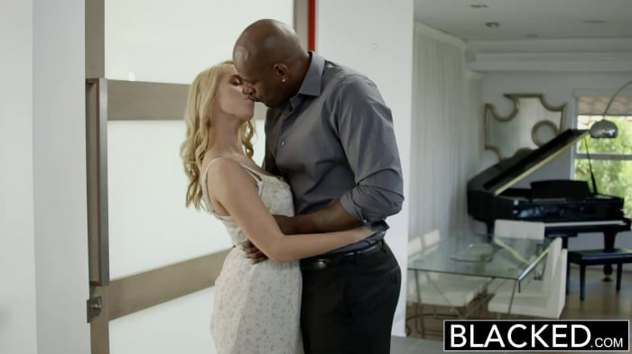 image Blacked girlfriend pays her boyfriends debt by fucking two b