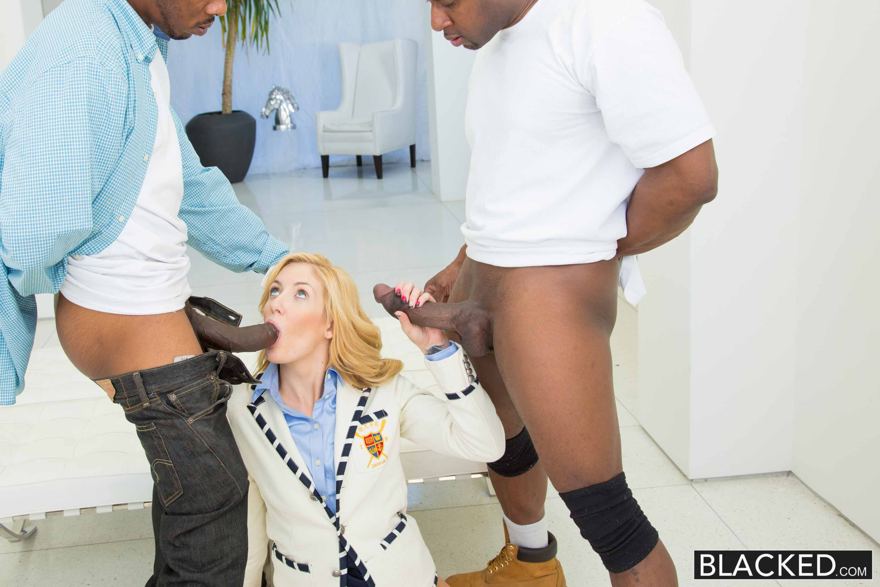 Emily Kae - 2 Big Black Dicks for Rich White Girl. | Picture (15)