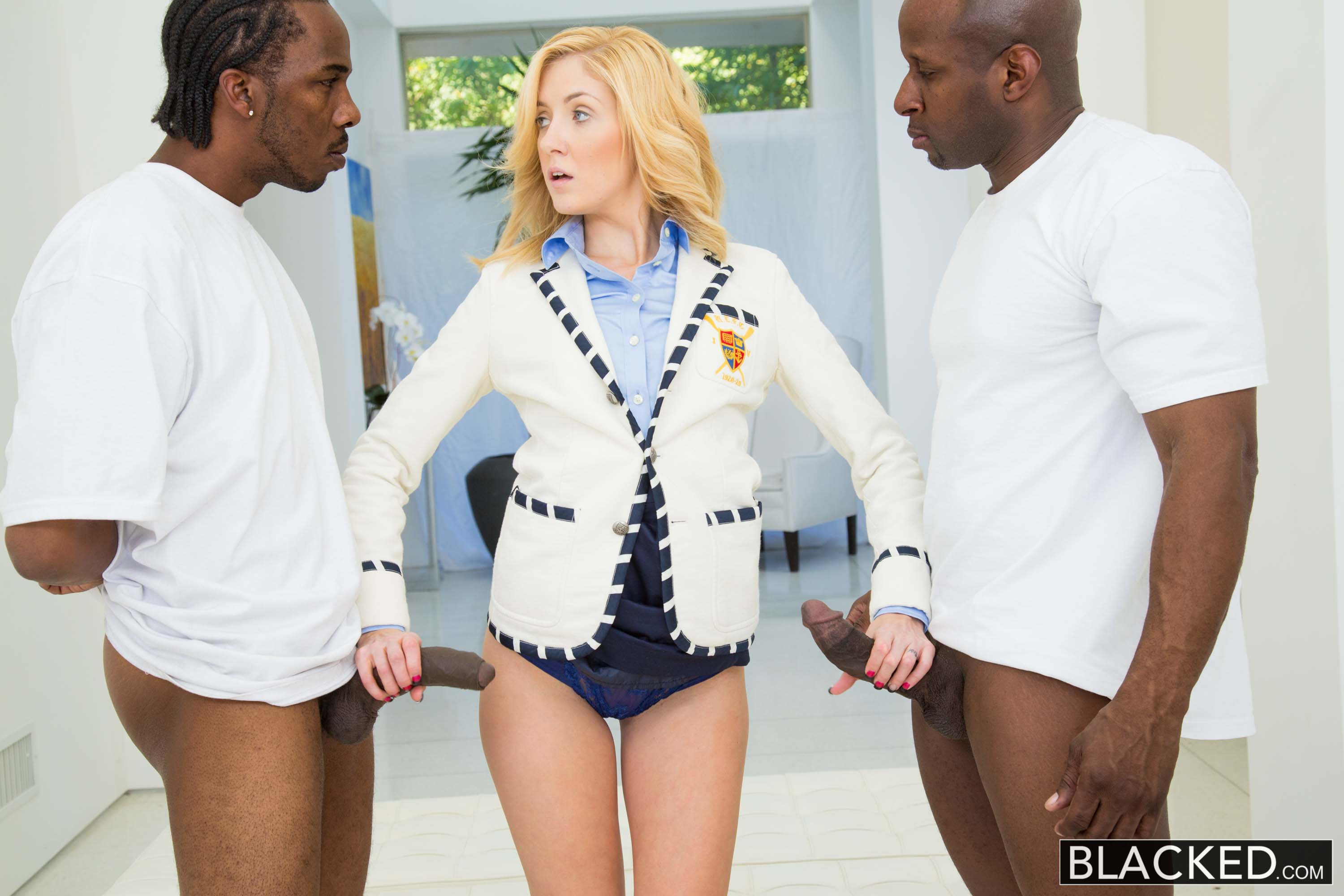 Emily Kae - 2 Big Black Dicks for Rich White Girl. | Picture (19)